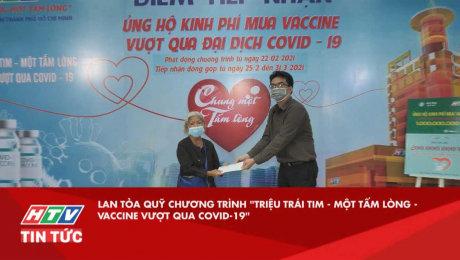 """Xem Video Clip Quỹ Chung Một Tấm Lòng Lan tỏa quỹ chương trình """"Triệu trái tim - Một tấm lòng - Vaccine vượt qua covid-19"""" HD Online."""
