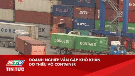 Doanh Nghiệp Vẫn Gặp Khó Khăn Do Thiếu Vỏ Container