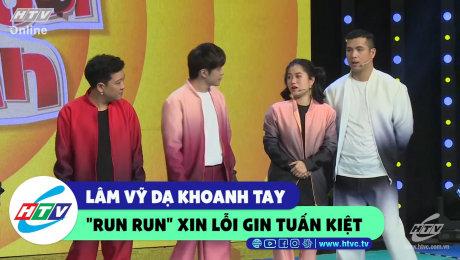 """Xem Show CLIP HÀI Lâm Vỹ Dạ khoanh tay """"run run"""" xin lỗi Gin Tuấn Kiệt HD Online."""