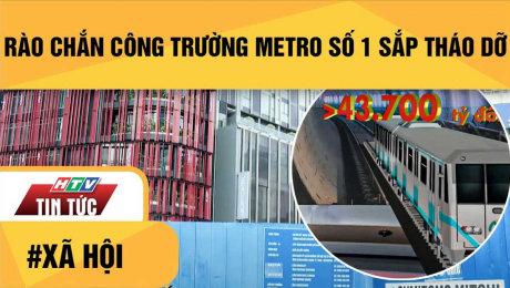 Rào Chắn Công Trường Metro Số 1 Sắp Tháo Dỡ