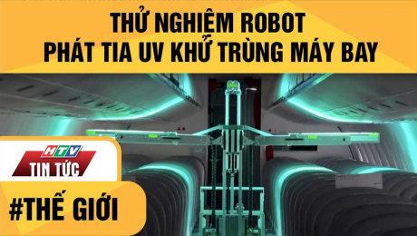 Thử Nghiệm Robot Phát Tia Uv Khử Trùng Máy Bay