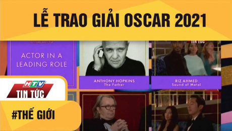 Xem Clip Lễ Trao Giải Oscar 2021 HD Online.