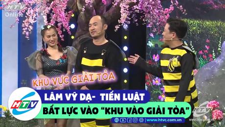 """Xem Show CLIP HÀI Lâm Vỹ Dạ, Tiến Luật bất lực khi bị vào """"khu vực giải tỏa""""  HD Online."""