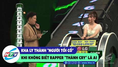 """Xem Show CLIP HÀI Kha Ly thành """"người tối cổ"""" khi không biết rapper """"Thành Cry"""" là ai HD Online."""
