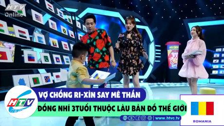 Xem Show CLIP HÀI Vợ chồng Xìn-Ri say mê thần đồng 3t thuộc lầu bản đồ thế giới HD Online.