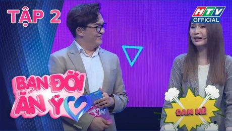 Xem Show TV SHOW Bạn Đời Ăn Ý Mùa 2 Tập 02 : Khánh Đặng thừa nhận nhìn mặt Thanh Trần không thể khóc được HD Online.