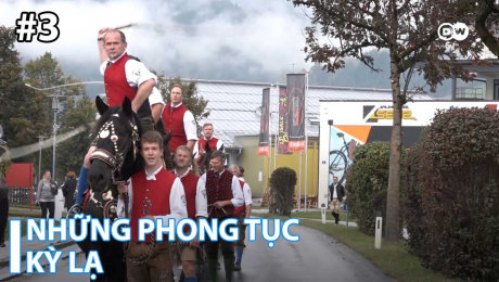 Xem Show TRUYỀN HÌNH THỰC TẾ Những Phong Tục Kỳ Lạ Tập 03 : Alpine Cowboys in Austria – Harvest Festival with Whips and Trumpets HD Online.