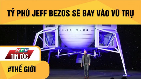 Xem Clip Tỷ Phú Jeff Bezos Sẽ Bay Vào Vũ Trụ HD Online.