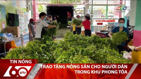 Xem Clip Trao Tặng Nông Sản Cho Người Dân Trong Khu Phong Toả HD Online.