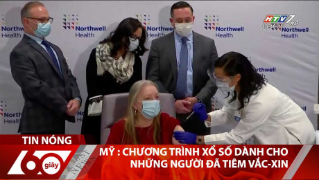 Mỹ : Chương Trình Xổ Số Dành Cho Những Người Đã Tiêm Vắc-Xin