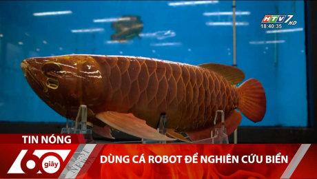 Dùng Cá Robot Để Nghiên Cứu Biển