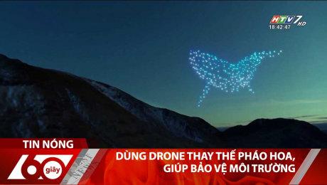 Dùng Drone Thay Thế Pháo Hoa, Giúp Bảo Vệ Môi Trường