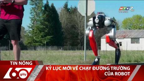 Kỷ Lục Mới Về Chạy Đường Trường Của Robot
