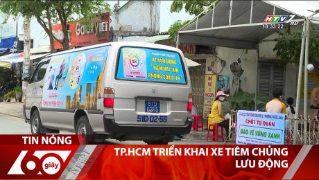 TP.HCM Triển Khai Xe Tiêm Chủng Lưu Động
