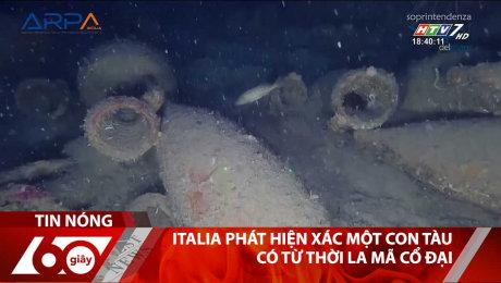 ITALIA Phát Hiện Xác Một Con Tàu Có Từ Thời La Mã Cổ Đại