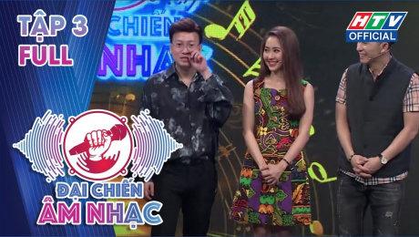 Xem Show TV SHOW Đại Chiến Âm Nhạc  Tập 03 : Cố ca sĩ Việt Quang tiết lộ thích để tóc hai mái HD Online.
