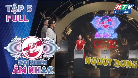 Xem Show TV SHOW Đại Chiến Âm Nhạc  Tập 05 : Hà Nhi, Bảo Kun, Anh Tú tạo thành đội hình sung sức HD Online.