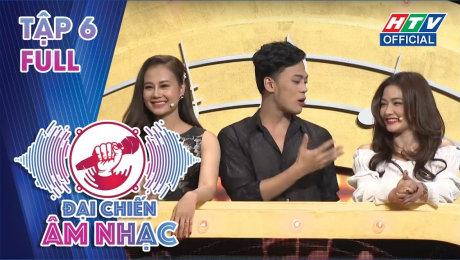Xem Show TV SHOW Đại Chiến Âm Nhạc  Tập 06 : Hà Nhi, Bảo Kun, Anh Tú tạo thành đội hình sung sức HD Online.