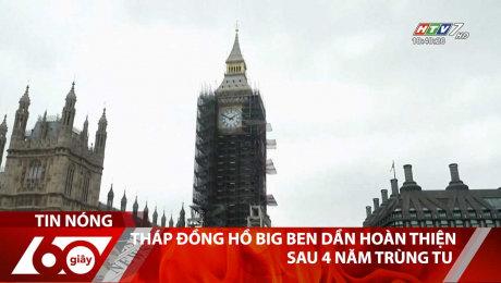 Xem Clip Tháp Đồng Hồ Big Ben Dần Hoàn Thiện Sau 4 Năm Trùng Tu HD Online.