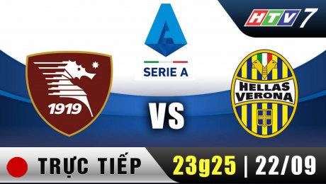 Trực Tiếp : Giải Serie A - Salernitana vs Verona