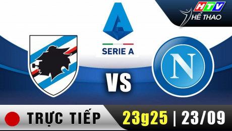 Trực tiếp : Giải Serie A - Sampdoria vs Napoli